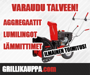 Varaudu talveen lumilingoilla ja aggregaateilla!